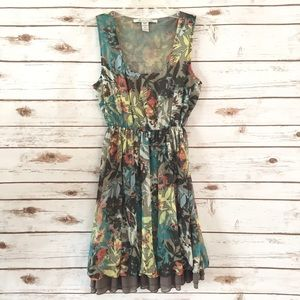 American Rag | Floral Chiffon Bubble Hem Dress